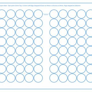 SRA3 Digital Pre Cut Sheets 32mm