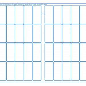 SRA3 Digital Pre Cut Sheets 34x75mm